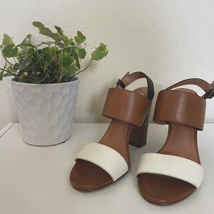 Halogen color block women's heels size 6.5